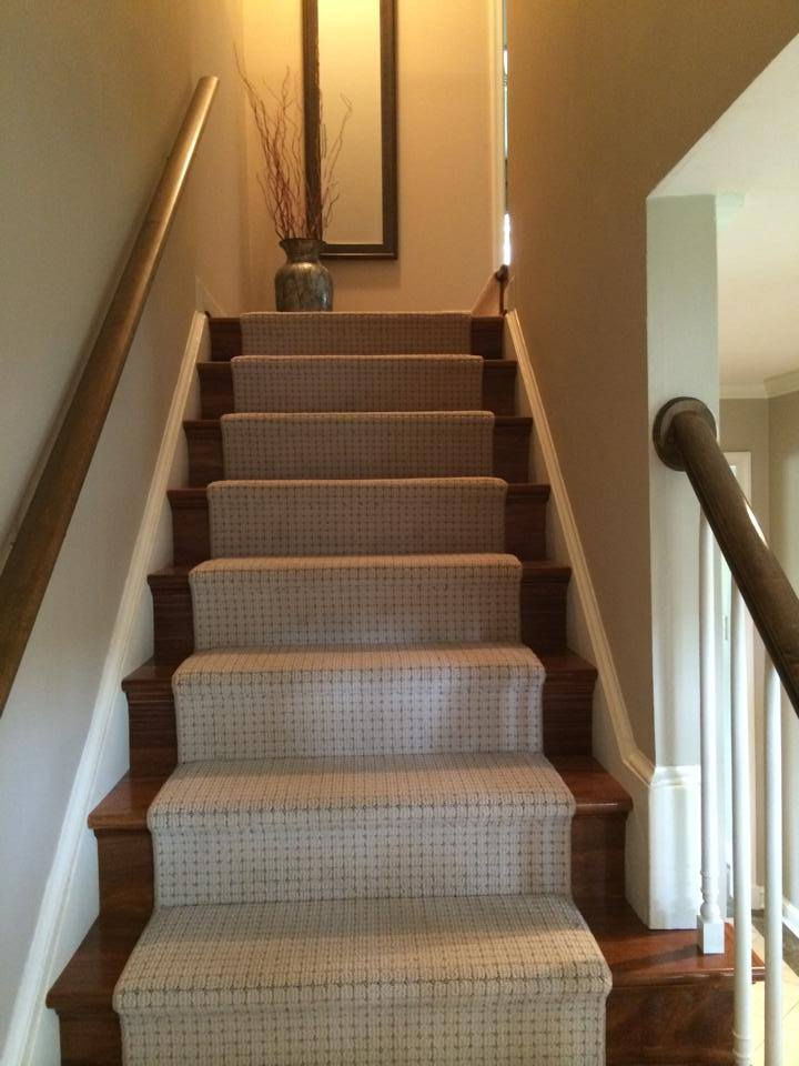 custom-cream-carpet-stair-runner