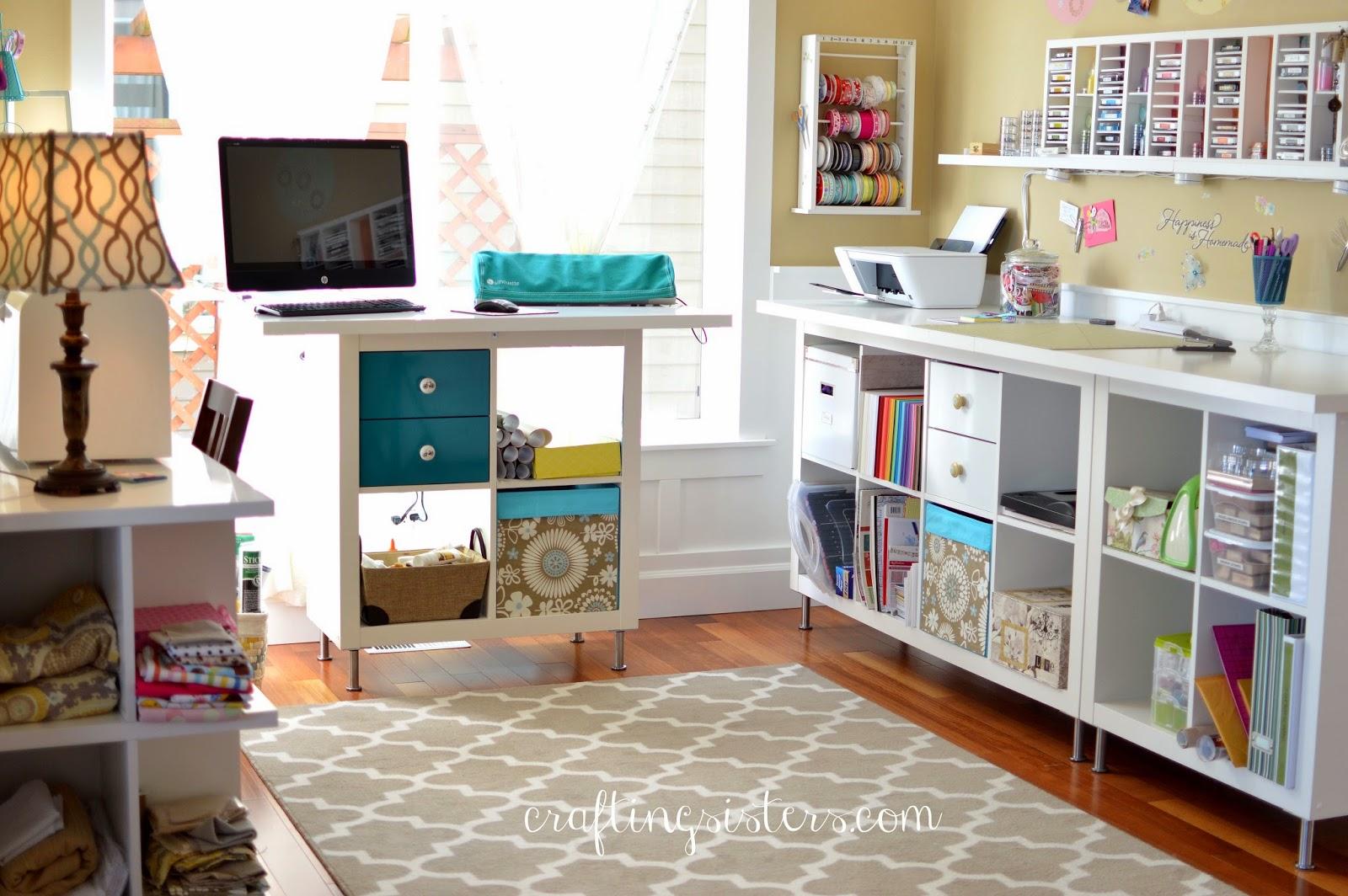 Dining room as Craft room