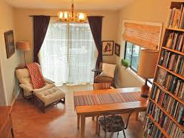 dining Room repurposed as library