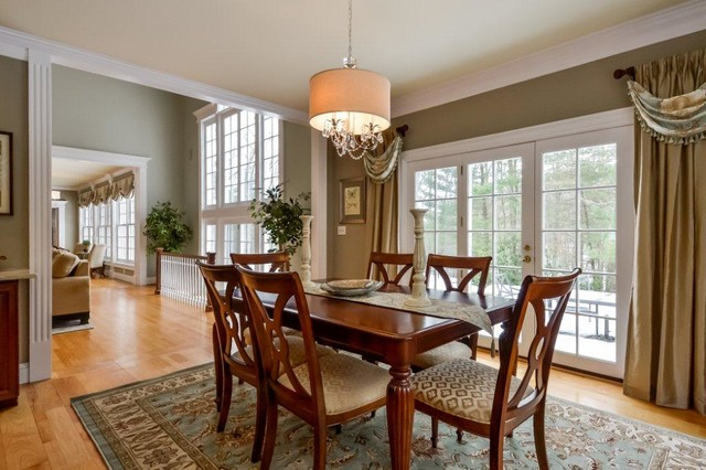 dining room transitional informal