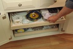 pullout kitchen trays