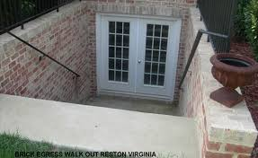 basement egress door