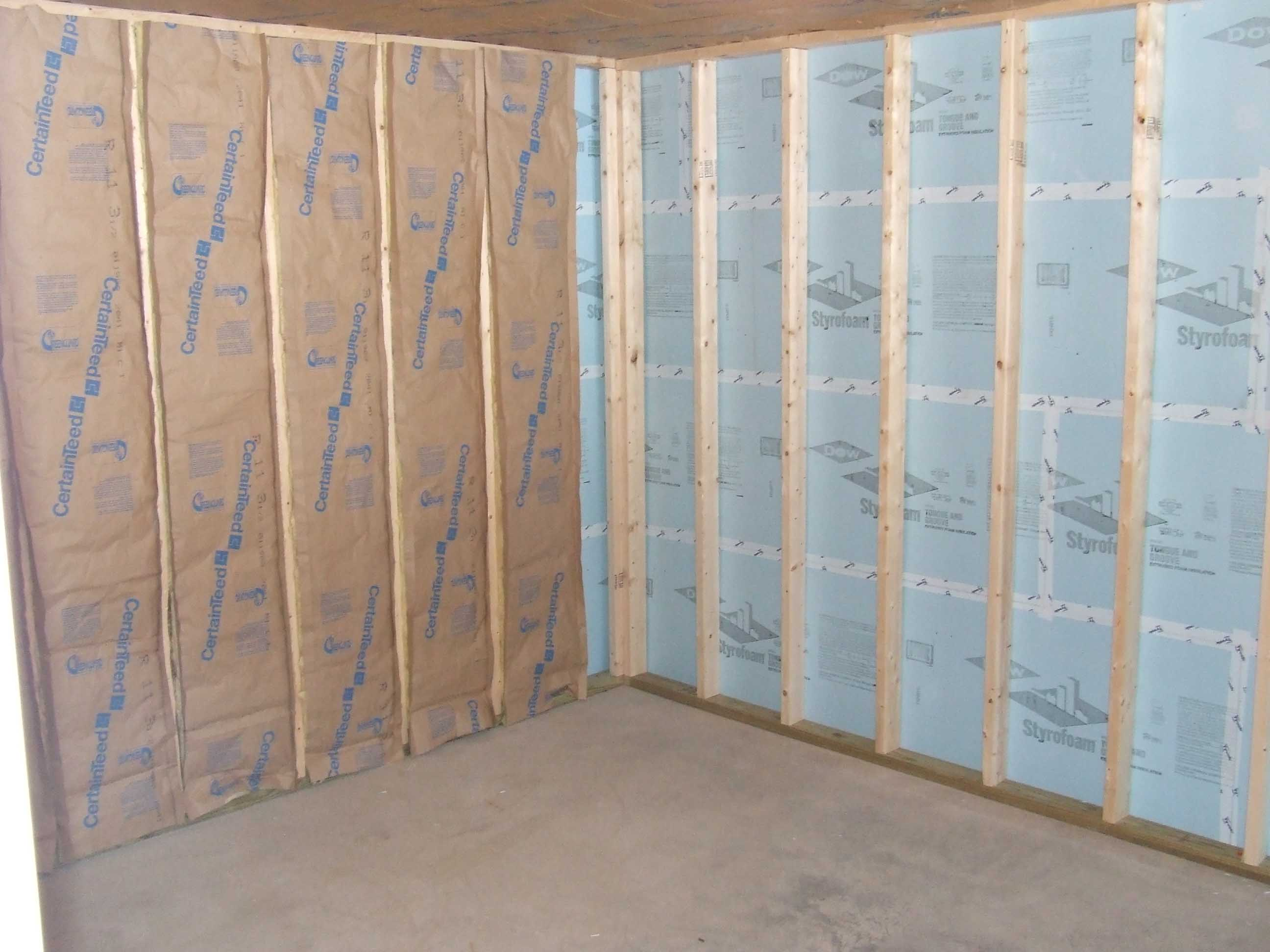 basement-insulation-fiberglass-foam