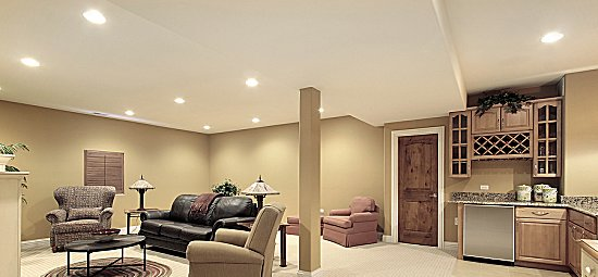 Drywall_ceiling_basement