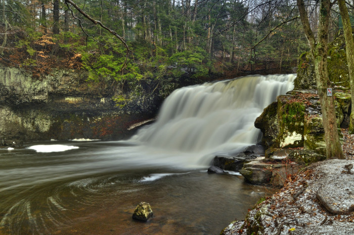 2. Wadsworth Falls, Middlefield