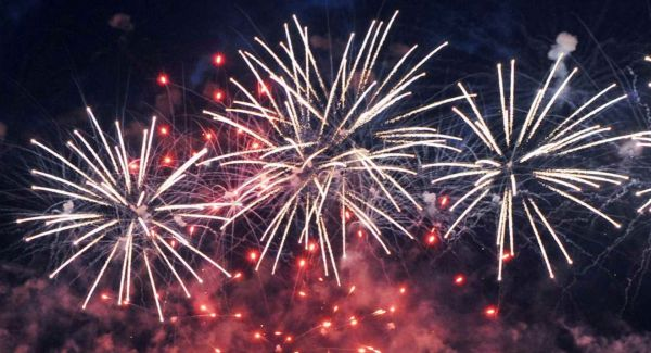 Check out the locations to see fireworks before