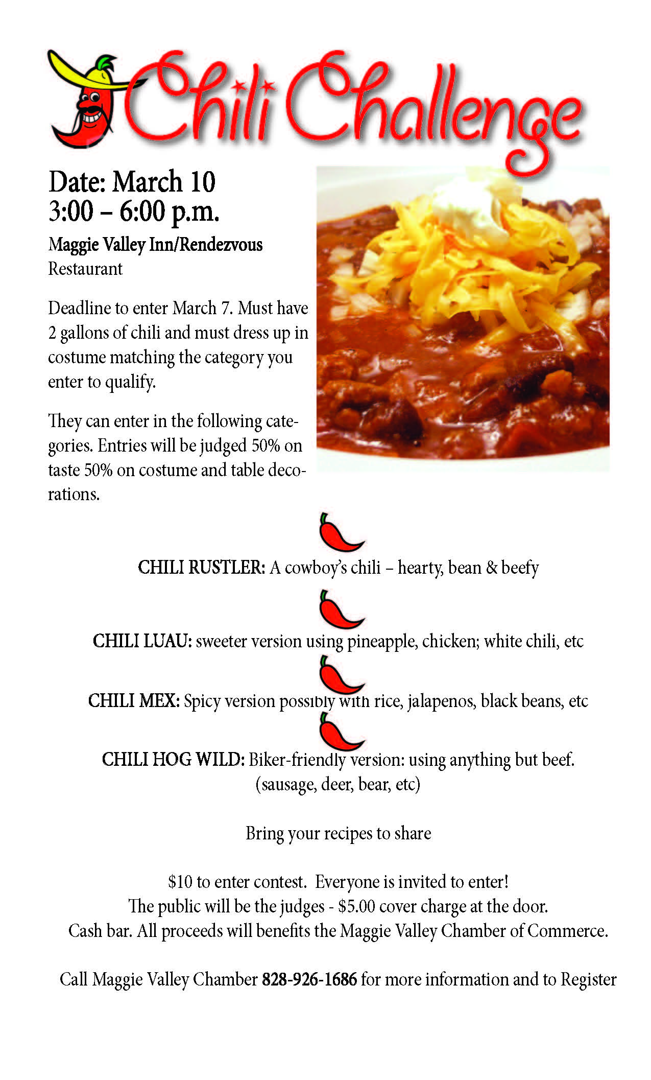 Chili Challenge 2013 Poster (8 5x14)