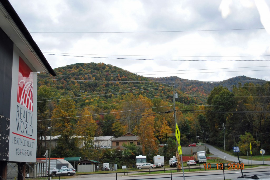 Maggie Valley NC Daily Leaves Color Update as of Oct. 13th