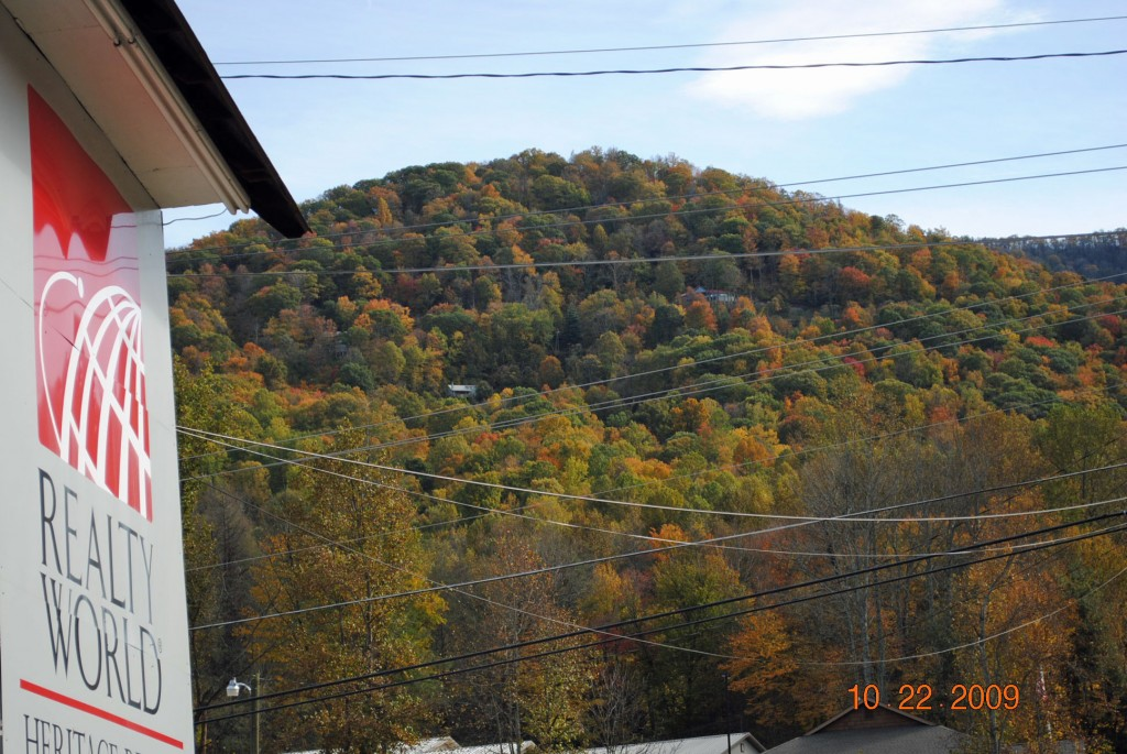 Maggie Valley NC Fall Leaves Update as 10-22-09