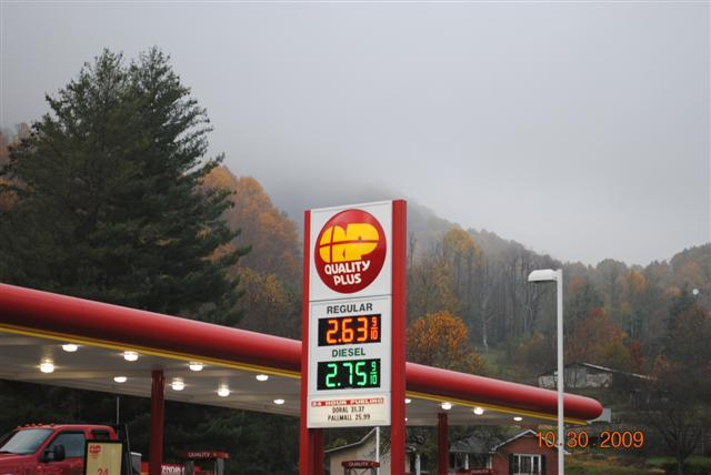 Quality Plus gas price 10-30-09