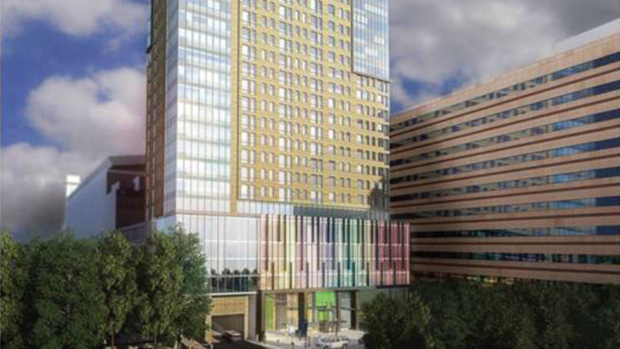 Suffolk University rendering for Nashua Street Resdience Tower