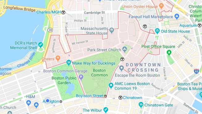 02108 Boston Zip Code